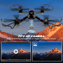 Load image into Gallery viewer, DROCON Drone for Beginners X708W Wi-Fi FPV Training Quadcopter with HD Camera - ValueLink Shop