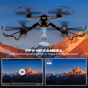 DROCON Drone for Beginners X708W Wi-Fi FPV Training Quadcopter with HD Camera - ValueLink Shop
