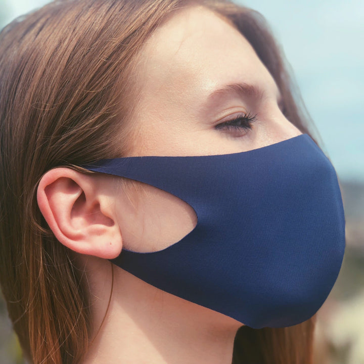 Aveita Hong Kong Reusable Fabric Face Mask Blue