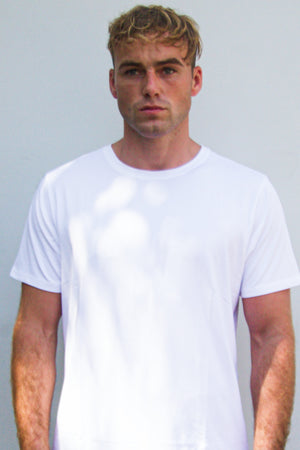 DxSportswear - Men's Endurance Short Sleeve Tee | Ice White