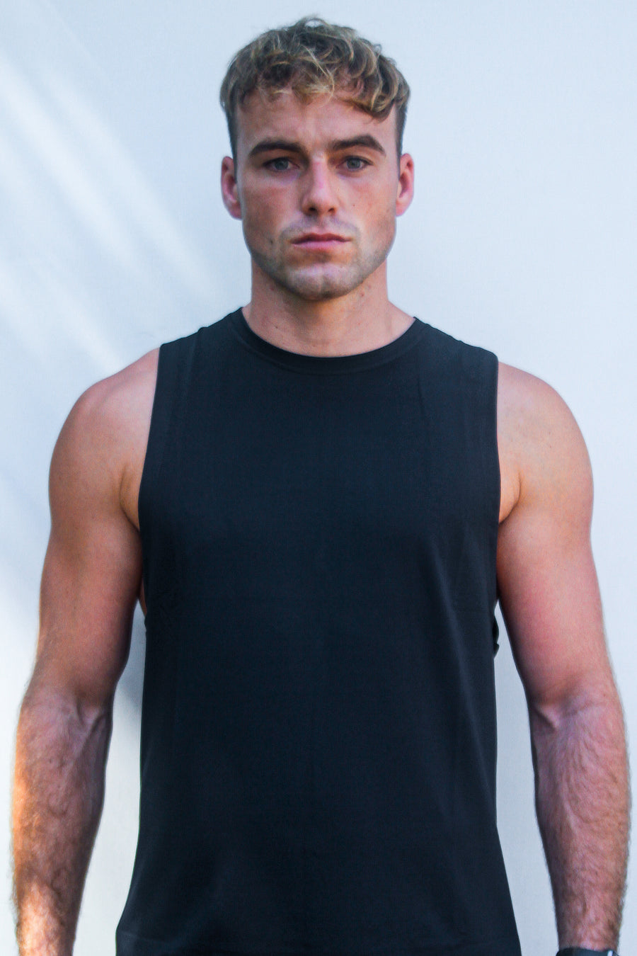 DxSportswear - Men's Agile Tank | Midnight Black