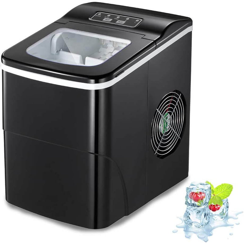 AG ice maker-black
