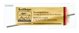 Jewelers saw blades ANTILOPE® yellow
