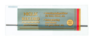 Jewelers saw blades NIQUA RECORD blue