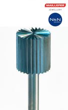 Load the picture into the gallery viewer, R (f) MAILLEFER tool steel milling cutter cylinder ISO 100