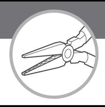 Load the picture into the gallery viewer, ANTILOPE® round nose pliers without spring with 130mm cut