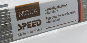 Wood jigsaw blades NIQUA SPEED