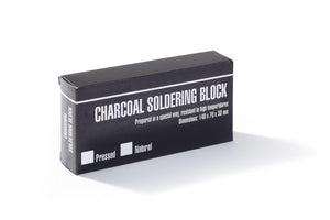 NIQUA soldering block made of compressed charcoal