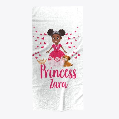 Princess Zara Towel - Create Representation, inc.