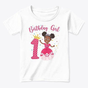 Birthday Girl Shirt - Create Representation, inc.