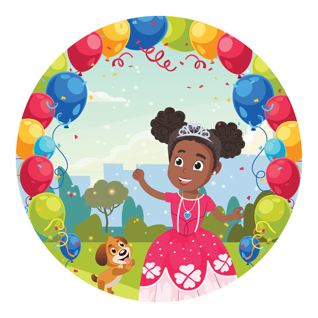 Princess Zara Birthday Set! - Create Representation, inc.