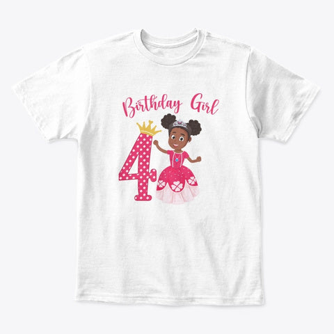 Birthday Girl Shirt- Custom # Can be created - Create Representation, inc.