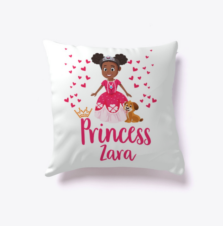 Princess Zara Pillow - Create Representation, inc.