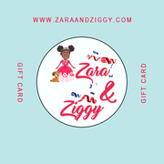 Princess Zara and Ziggy Gift Card - Create Representation, inc.