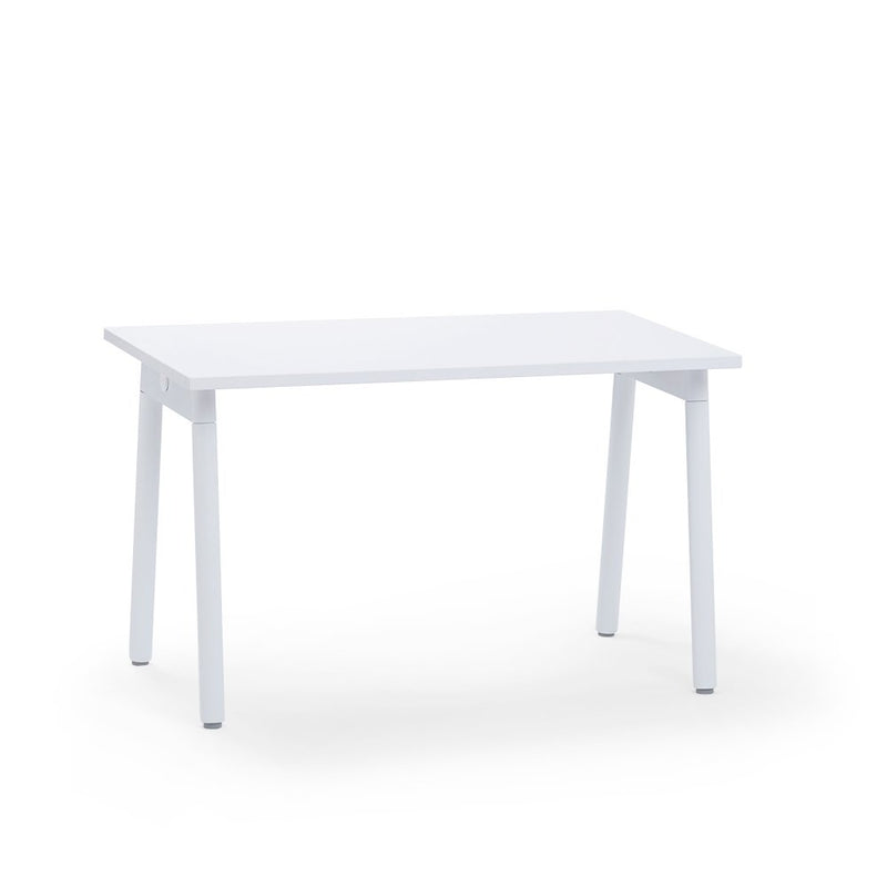 "57"" Single Desk White"