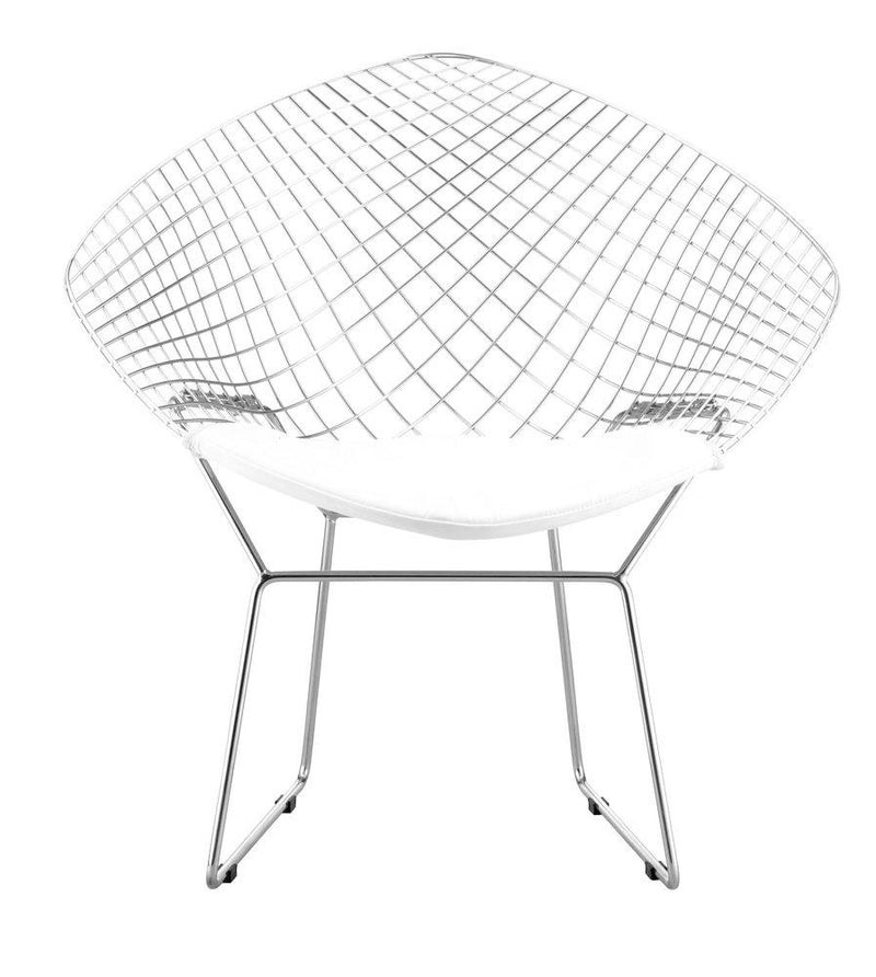 Net Dining Chair White (Set of 2)