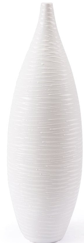 Hat Large Vase White