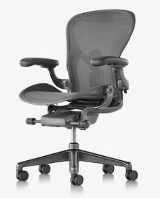 Herman Miller Aeron Chair Black