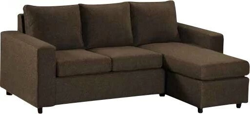 Avior Right Sectional Sofa Brown