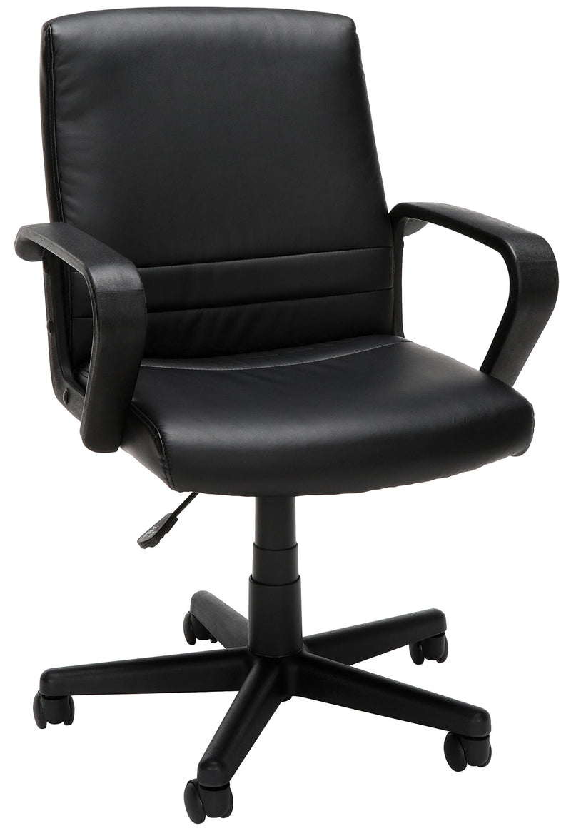 Essentials Mid Back Executive Chair Black