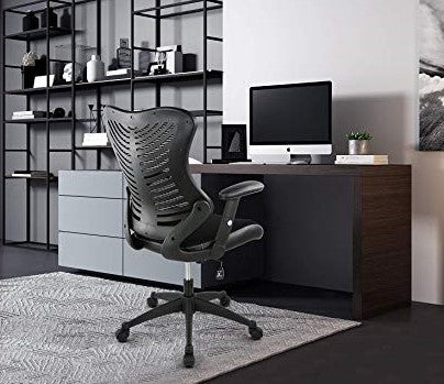 Correna Office Chair In Mesh Black