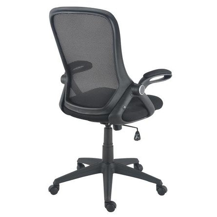Amy Office Chair In Mesh Black
