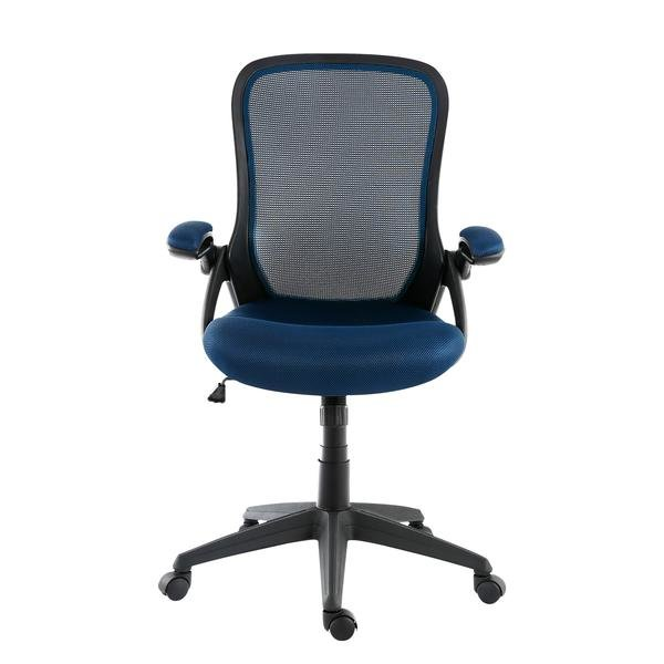 Amy Office Chair In Mesh Blue