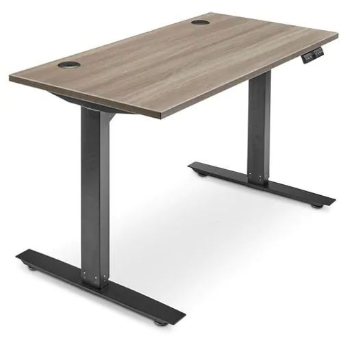 Adjustable Height Desk 48 x 24 Gray