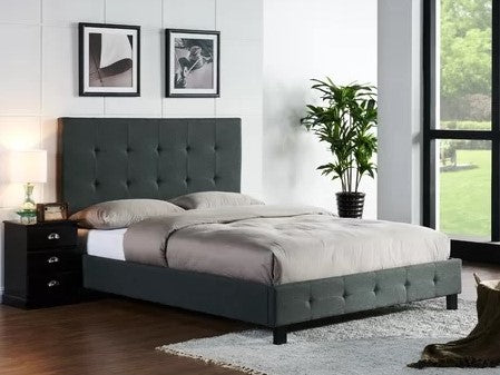 Taylor Platform King Bed Pepper