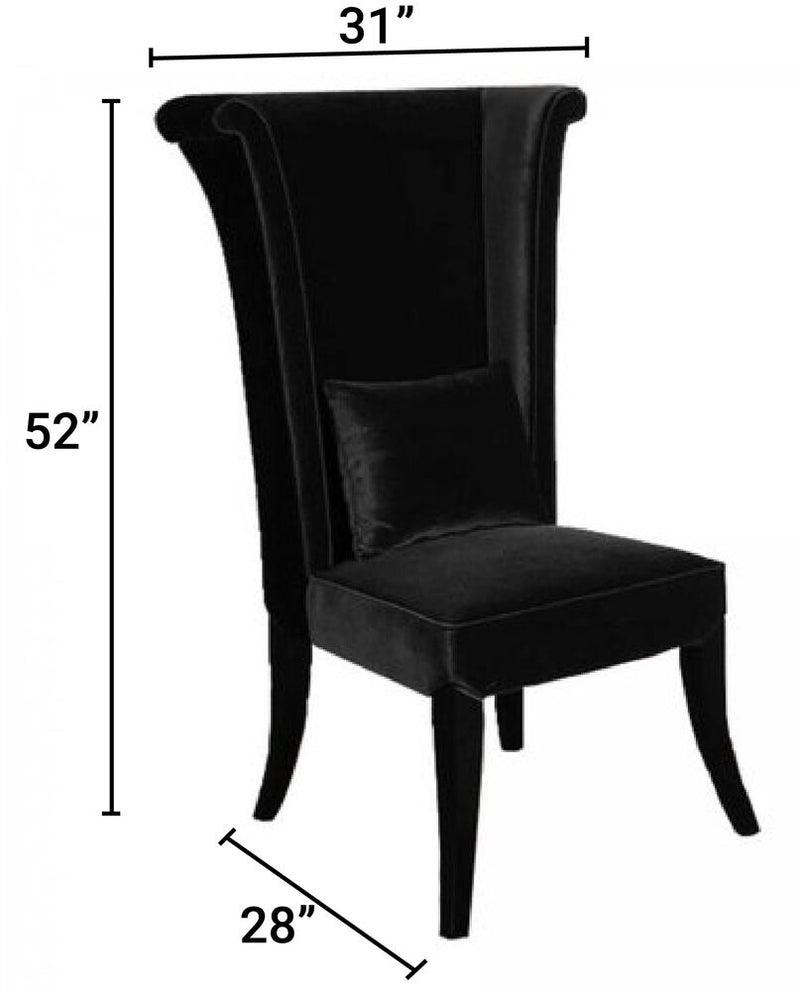 Andromeda Dining Chair Black