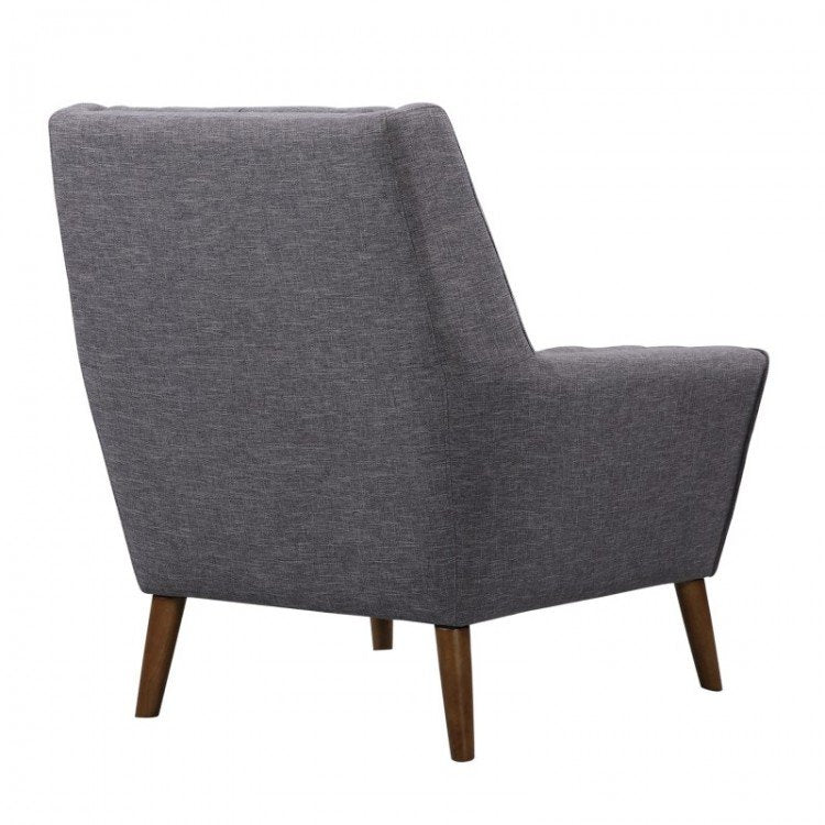 Boyne Mid-Century Modern Chair Dark Gray