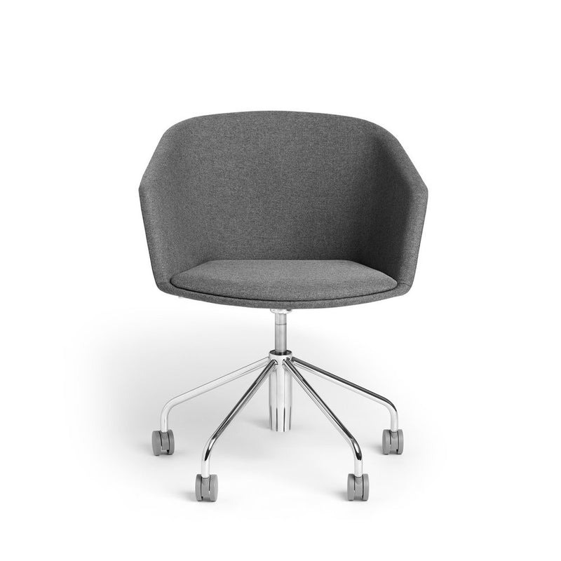 Dark Gray Meeting Chair