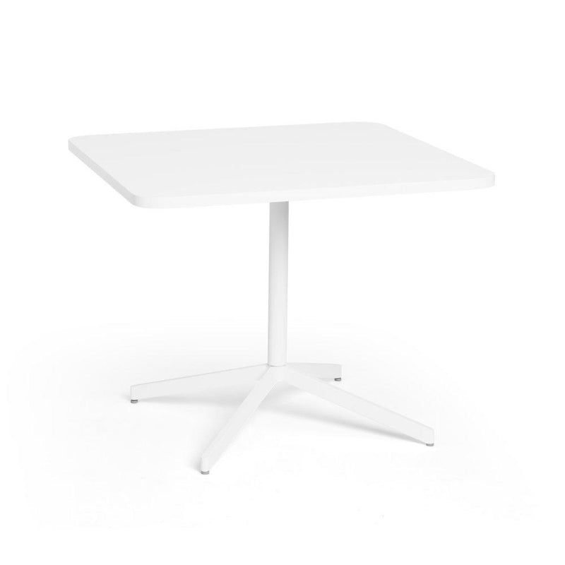 "36"" White Meeting Table"