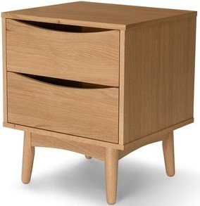 Article Culla 2 Drawer Night Stand Oak