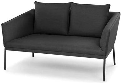 Article Palo Contemporary Outdoor Loveseat Sula Gray