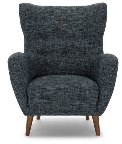 Article Mod Mid-Century Modern Armchair Blue Berry
