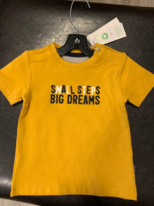 Noppies Mustard baby boys T Shirt