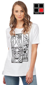 Carré Noir Organic Cotton Graphic Tee