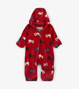 Hatley Farm Tractor Fleece Baby Bundler