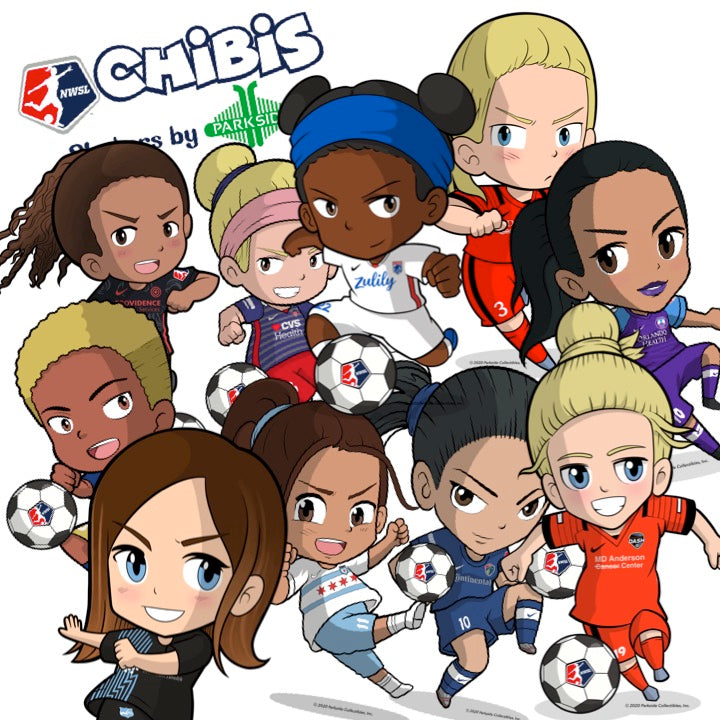 NWSL CHIBIS STICKER SET: VOL 1