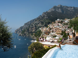 Best hotel in Positano Amalfi Coast Italy. Poolside and infinity pool with a view for the perfect european summer vacation