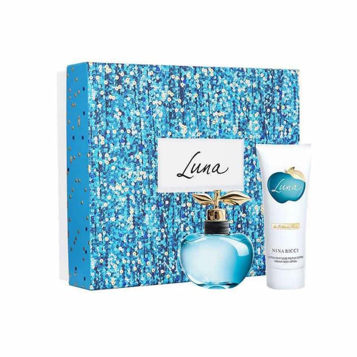 Nina Ricci Luna Eau De Toilette Spray 80ml Set 2 Pieces 2017