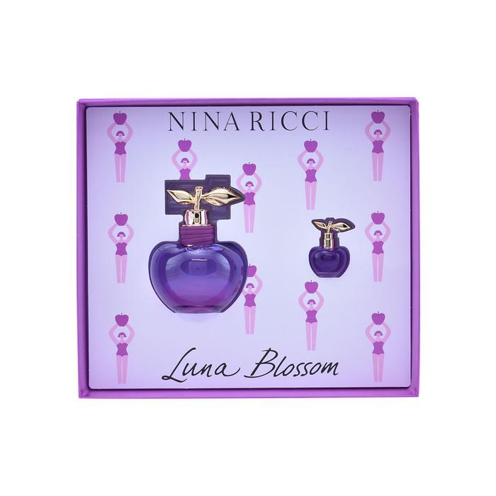 Nina Ricci Les Belles de Nina Luna Blossom Eau De Toilette Spray 80ml Set 2 Pieces 2018