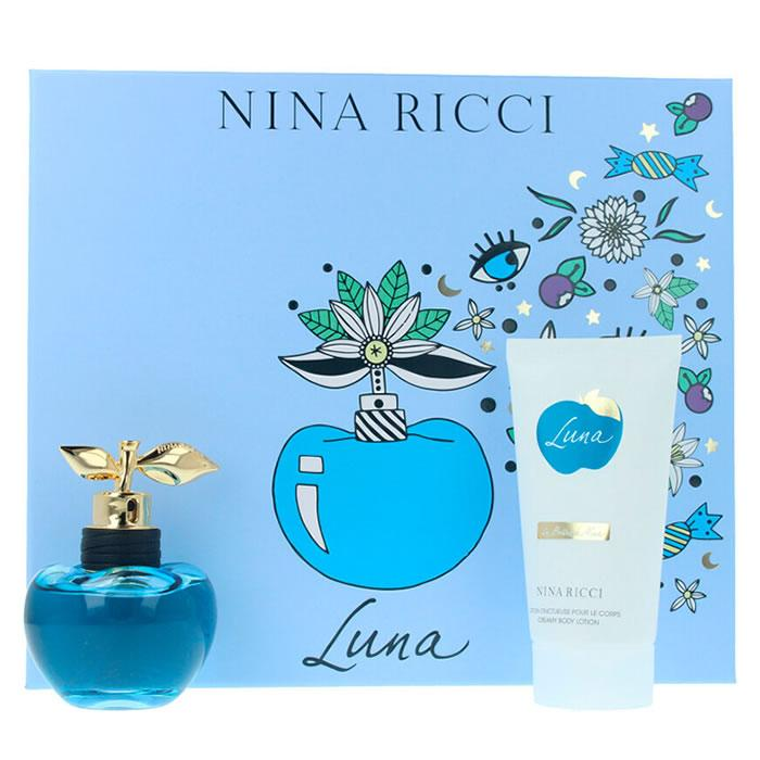 Nina Ricci Les Belles De Nina Luna Eau De Toilette Spray 50ml Set 2 Pieces 2019