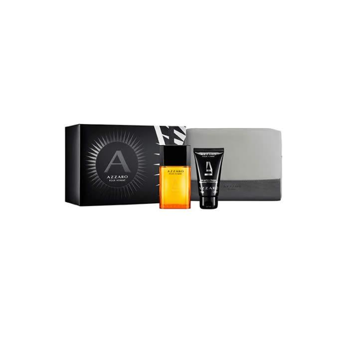 Azzaro Pour Homme Eau De Toilette Spray 50ml Set 3 Pieces 2020