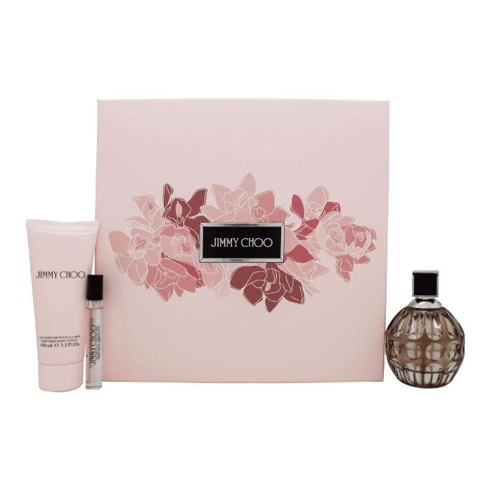 Jimmy Choo Eau De Perfume Spray 100ml Set 3 Pieces 2019