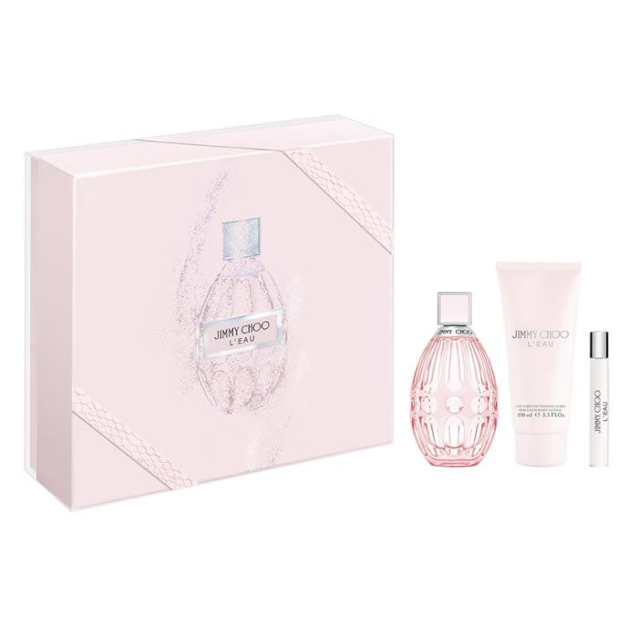 Jimmy Choo L'Eau Eau De Toilette Spray 90ml Set 3 Pieces 2019