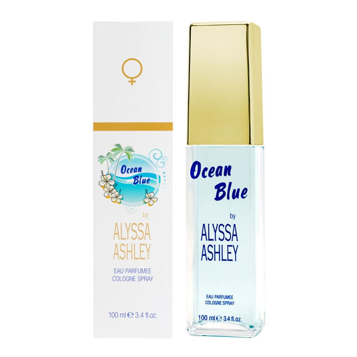 Alyssa Ashley Ocean Blue Eau De Perfume Spray 100ml
