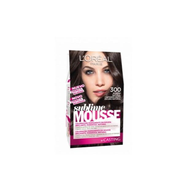 Loreal Sublime Mousse 300 Natural Brown