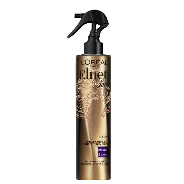 Loreal Elnett Heat Protect Styling Spray Straight 170ml